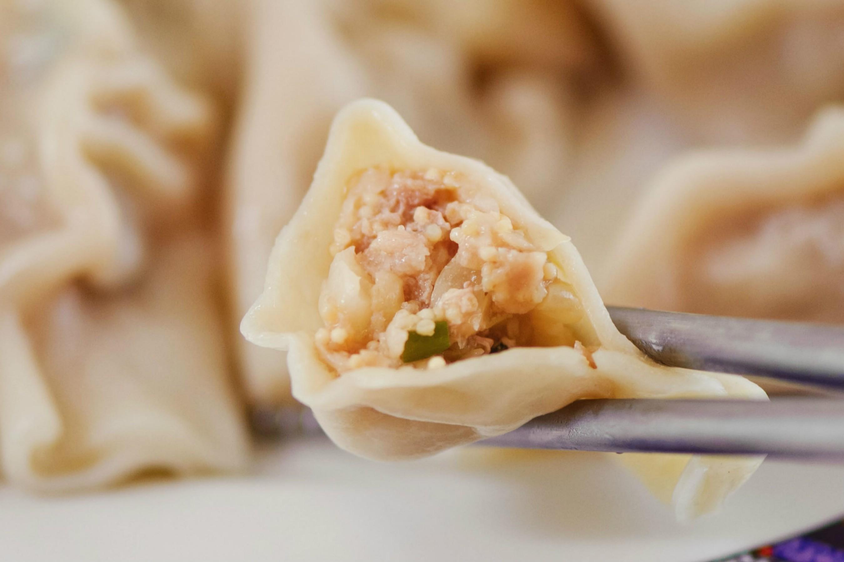 飛魚卵高麗菜水餃